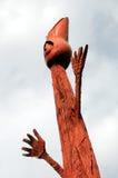 abstrakt skulptur Royaltyfria Bilder