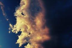abstrakt sky arkivfoto