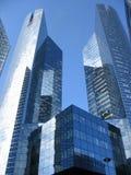 abstrakt skyskrapa Arkivfoton