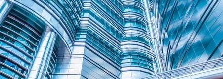 Abstrakt skyskrapabakgrund Fotografering för Bildbyråer