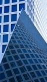 abstrakt skyskrapasikt Arkivfoto