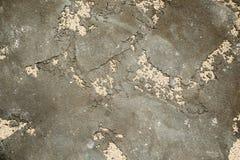 Abstrakt slät betongväggmurbruk ser grov textur för smutsig och sprucken bakgrund arkivbild