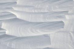Abstrakt snöbakgrund Royaltyfri Fotografi