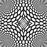 Abstrakt snakeskinbakgrund för monokrom vektor illustrationer