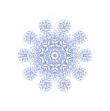 abstrakt snowflake Fotografering för Bildbyråer