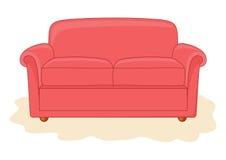 Abstrakt soffa. Arkivbilder