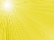 Abstrakt sommarbakgrund med solen Royaltyfri Foto