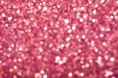 abstrakt sparkles för bakgrundsillustrationpink Royaltyfria Bilder