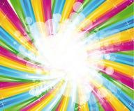 abstrakt spectrum för bakgrundsbroschyrregnbåge vektor illustrationer