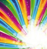 abstrakt spectrum för bakgrundsbroschyrregnbåge Royaltyfri Fotografi