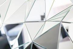 Abstrakt spegel Närbild royaltyfri fotografi