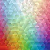 Abstrakt spektrumtriangel II Royaltyfri Fotografi
