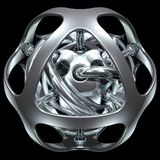 abstrakt sphere 006 fotografering för bildbyråer