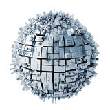 abstrakt sphere 3d Arkivfoton
