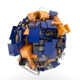 abstrakt sphere Royaltyfria Bilder
