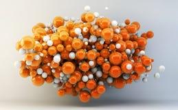 abstrakt spheres Arkivbilder