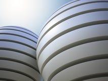 abstrakt spherestrukturer Royaltyfri Foto