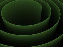 abstrakt spiral 3d royaltyfri illustrationer