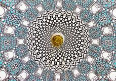 Abstrakt spiral arkitekturkonst Royaltyfria Bilder