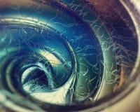 Abstrakt spiral för bildram Royaltyfri Fotografi