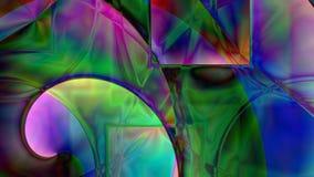 Abstrakt spiral prismabakgrund royaltyfria bilder