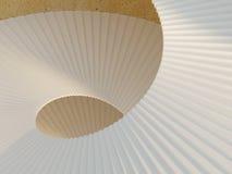Abstrakt spiral trappuppgång Fotografering för Bildbyråer