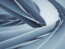 Abstrakt spirali krzyw techniki projekta nowożytny tło ilustracja wektor