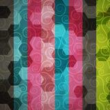 Abstrakt spirali wzór Zdjęcia Royalty Free