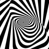 Abstrakt spirally paskuje tło royalty ilustracja