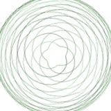 Abstrakt spirographbeståndsdel Arkivfoto