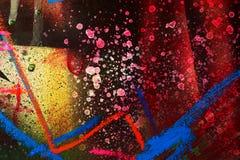 abstrakt splatter för bakgrundsgrafittimålarfärg royaltyfria foton