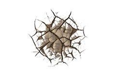 abstrakt sprucken textur Royaltyfri Foto