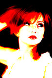 abstrakt stående Royaltyfria Bilder