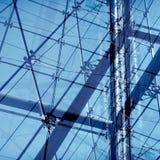 Abstrakt stålkonstruktion Fotografering för Bildbyråer
