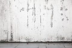 Abstrakt stads- bakgrundsinre, vit vägg royaltyfri fotografi