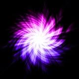 abstrakt starburst Arkivbilder