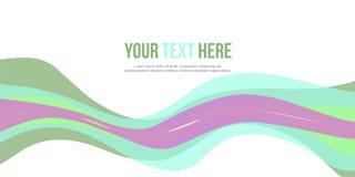 Abstrakt stil för titelradwebsitedesign Arkivfoto