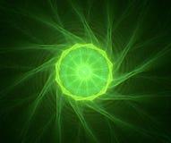 abstrakt stjärna för bakgrundsdesignfractal Arkivbild