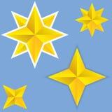 abstrakt stjärnavektor Royaltyfri Fotografi