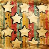 abstrakt stjärnor Royaltyfri Illustrationer