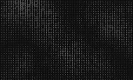 Abstrakt stor datavisualization för vektor Gråtondataflöde som binära nummerrader Framställning för datorkod stock illustrationer