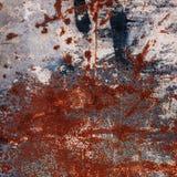 Abstrakt stor rostyttersidabakgrund Grungy bakgrund med Arkivfoton