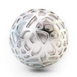 Abstrakt struktur för ingrepp 3D Royaltyfria Bilder