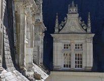 Abstrakt studie av taket och fönster Royaltyfria Bilder
