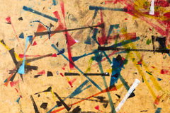 Abstrakt studioyttersida Arkivfoto