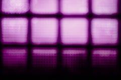 Abstrakt suddig bakgrund för turkos Väggen av glass kvarter Arkivbild