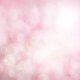 Abstrakt suddig färg- och bokehbakgrund, rosa färger och vit arkivbilder
