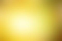 Abstrakt suddig gul bakgrund Royaltyfri Bild