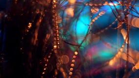 Abstrakt suddig julbakgrund lager videofilmer