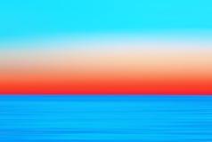 Abstrakt suddig livlig kulör havsbakgrund för rörelse arkivbild
